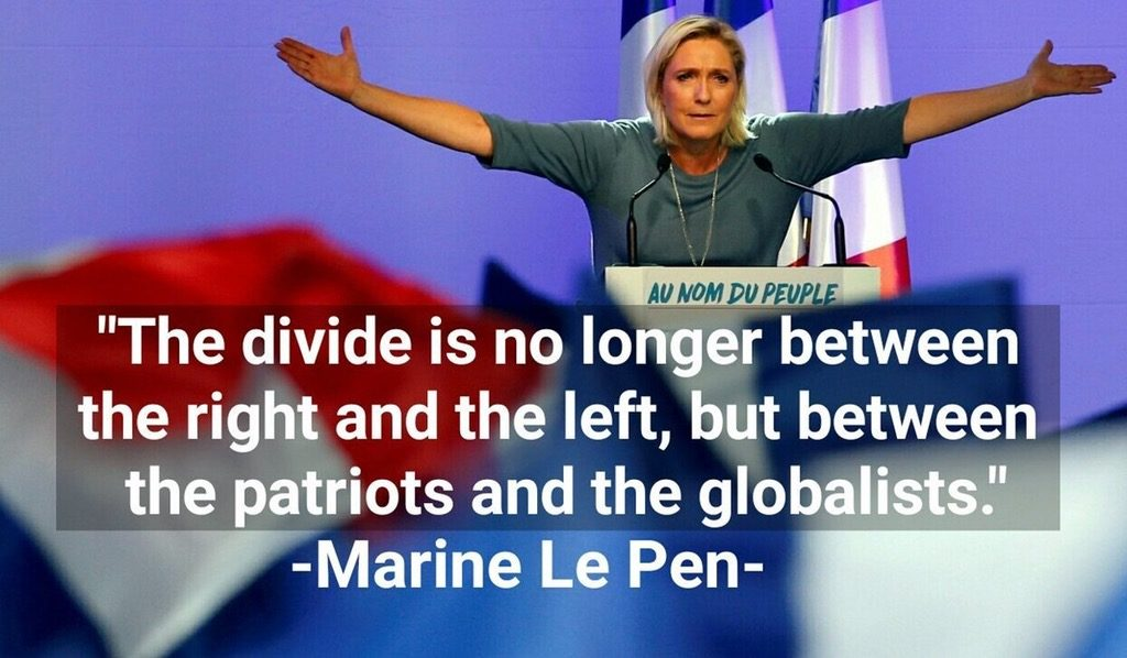 WESTERN REVOLUTION: MARINE LE PEN TO LEAD